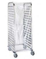 Housse à échelle double transparente 1450x1800 - Colis de 5 paquets de 40