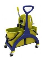 Chariot de lavage à timon latéral