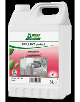 BRILLANT perfect, additif de rinçage pour lave-vaisselle écologique - Bidon de 5 Litres