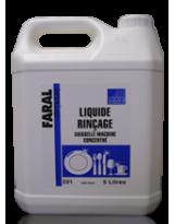 Liquide rinçage lave vaisselle toutes eaux - Bidon de 5 Litres