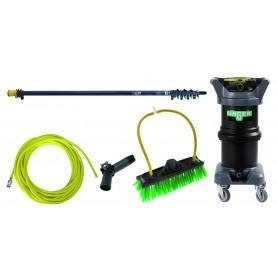 Système de nettoyage eau pure Unger HydroPower DI Kit 12 litres