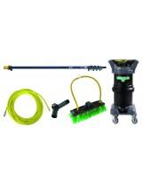 Système de nettoyage eau pure 6 mètres Unger HydroPower DI Kit 12 litres