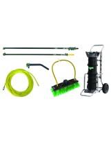 Système de nettoyage eau pure 10 mètres Unger HydroPower DI Kit Pro 24 litres