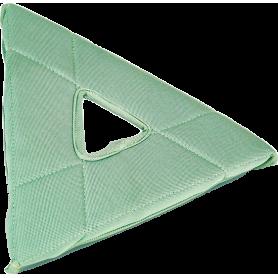 TriPad triangulaire microfibre de nettoyage Stingray UNGER