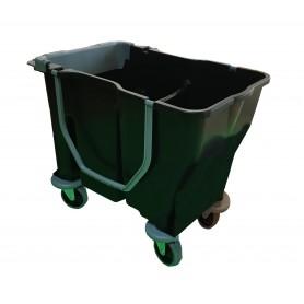 Chariot de lavage BiBac12+18L