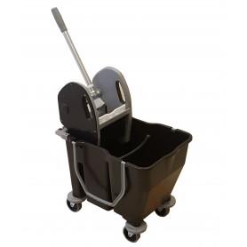 Chariot de lavage Bi-Bac12+18L avec presse