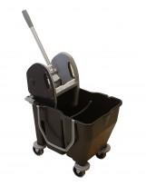 Chariot de lavage Bi-Bac 12+18L avec presse