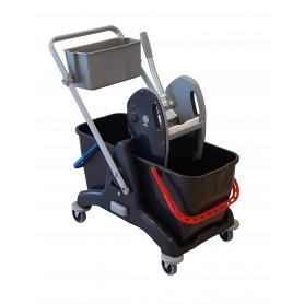 Chariot de lavage Tristar30 COMP avec bac produit et  presse