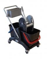 Chariot de lavage BIS avec bac produit et presse