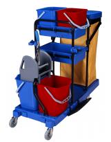 Chariot de ménage complet