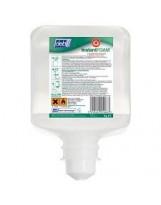 Mousse hydroalcoolique désinfectante DEB InstantFOAM - Colis de 6 cartouches de 1L