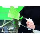 Pad de nettoyage microfibres Unger velcro pour porte-pad PHH20 & PHD20 - Lot de 5