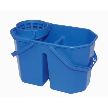 Seau 15 litres avec séparation et système d'essorage