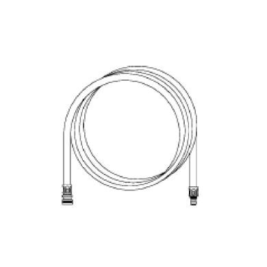 Rallonge 10 mètres pour tuyau alimentaire diam 12mm avec raccords pour centrale Erdemil
