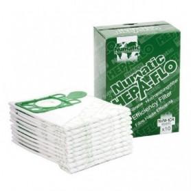Sac pour aspirateur NUMATIC HEPAFLO 9l - Paquet de 10