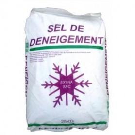 Sel de déneigement en sac de 25kg