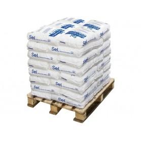 Sel en pastilles pour adoucisseur en sac de 25kg - Palette de 30 sacs