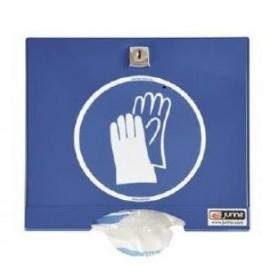 Distributeur laqué blanc pour gants PE