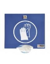 Distributeur laqué pour gants PE