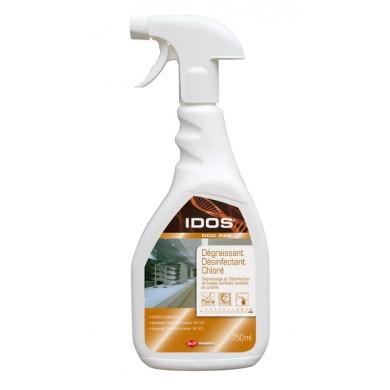 Dégraissant désinfectant chloré IDOS DDC PAE - Flacon de 750 ml