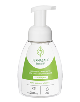 Mousse désinfectante mains SR DERMASAFE sans alcool - Flacon de 250ml