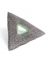 TriPad triangulaire microfibre de nettoyage intensif Stingray UNGER