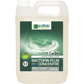 Bactopin Plus Concentré - Détergent désodorisant désinfectant parfum pin - Bidon de 5L