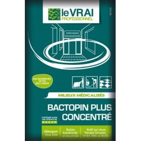 Bactopin Plus Concentré - Détergent désodorisant désinfectant parfum pin - Carton de 250 doses de 20ml