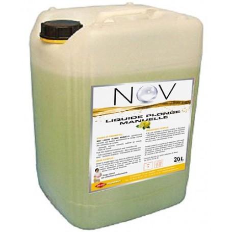 Liquide vaisselle plonge citron concentré - Bidon de 20L