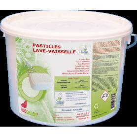 Pastilles Idegreen pour lave vaisselle écolabel - Seau de 125 pastilles de 18g