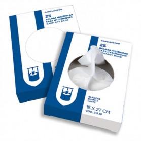 Boîte de 25 sachet hygiène féminine - Colis de 48 boîtes