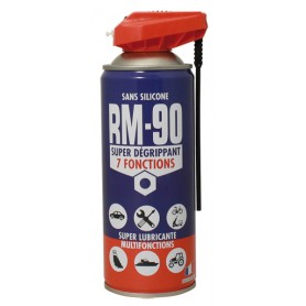 RM-90 7 fonctions, dégrippant et lubrifiant - Aérosol 400ml