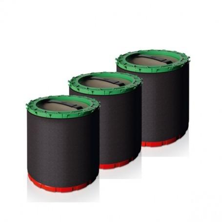 Résine Ultra pour filtre HydroPower Ultra S - Pack de 3