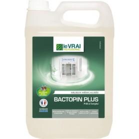 Bactopin Plus - Détergent désinfectant pour milieux médicalisés - Bidon de 5L