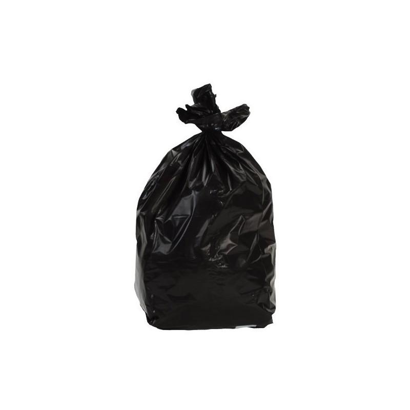 sac poubelle 100l noir standard colis de 200. Black Bedroom Furniture Sets. Home Design Ideas
