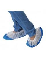 Sur-chaussures a semelle bleue - Carton de 300 pièces