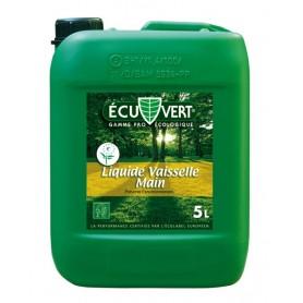 Liquide vaisselle main écologique Ecuvert - Bidon de 5L