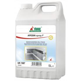 APESIN Spray, Spray désinfectant de contact sans rinçage - Bidon de 5L