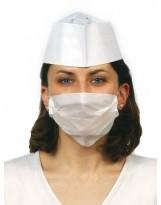 Masque papier blanc 1 pli - Boite de 1000