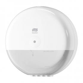 Distributeur papier toilette smartone Tork blanc T8