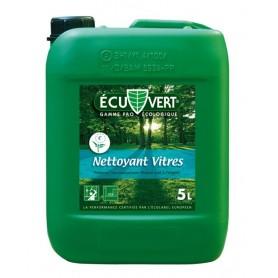 Nettoyant vitres écologique Ecuvert - Bidon de 5L