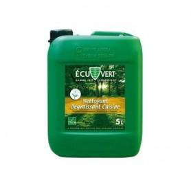 Nettoyant dégraissant écologique Ecuvert - Bidon de 5L