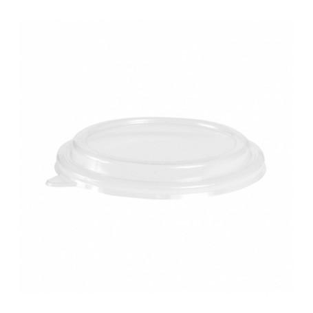Couvercle transparent PET diam 16,6cm pour saladier 1100ml - Colis de 300