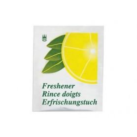 Rince doigts parfum citron emballage individuel - Colis de 1000