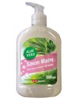 Savon crème main à pompe type Pouss Mousse - Flacon 500ml