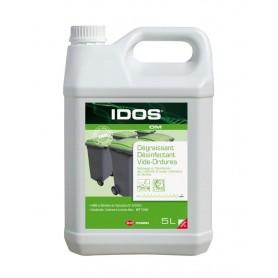 Dégraissant désinfectant spécial locaux déchets Idos OM - Bidon de 5L