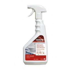 Nettoyant détartrant désinfectant Idos Acidobact - Flacon 750ml