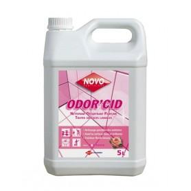 Nettoyant sanitaires détartrant journalier floral Odor'cid - Bidon de 5L