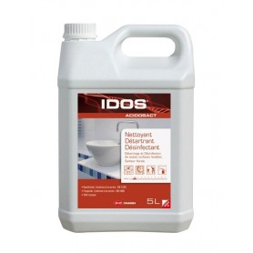 Nettoyant détartrant désinfectant Idos Acidobact - Bidon de 5L
