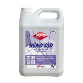 Détartrant désincrustant sanitaires Réno'cid - Bidon 5L